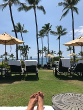 An afternoon view in Wailea, Maui