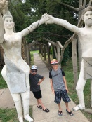 Weirdness in Lucas, KS, at the Garden of Eden