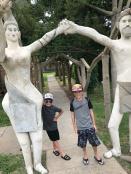 Weirdness in Lucas, KS, at the Garden of Eden