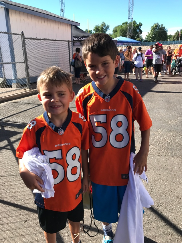 Off to Von Miller ProCamp