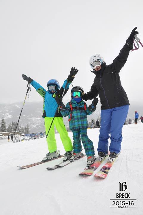 Ski day with the kiddos